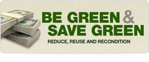 Be Green and Save Green